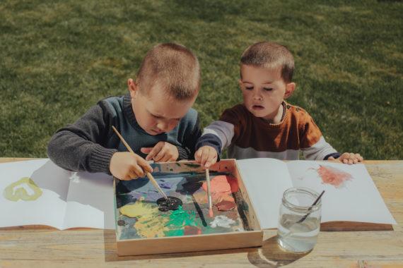 Pomysły na malowanie z najmłodszymi 2